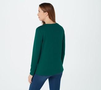 Denim & Co. Gray Women's Sweaters ShopStyle