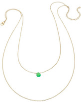 Heather Hawkins Tiny Gemstone Drape Necklace - Multiple Colors