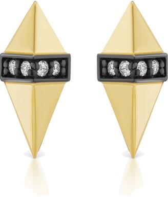 Sorellina Pietra Diamond Stud Earrings