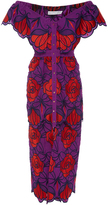 Alice McCall Tutti Frutti Violet Floral Dress