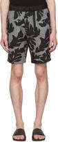 Diesel Black P-Pollack Printed Shorts