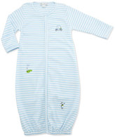 Kissy Kissy Mini Golf Convertible Pima Sleep Gown, Light Blue, Size Newborn-Small