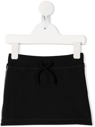 DSQUARED2 Striped Trim Skirt