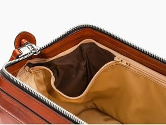 Bosca Leather Dopp Kit