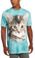 The Mountain Men's Striped Kitten T-Shirt