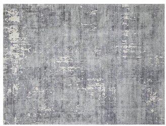 Interlude Oxford Hand-Knotted Gray Area Rug Rug Size: 5' x 8'
