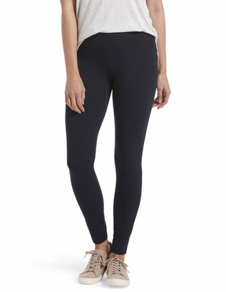 Hue Women's Cotton Ultra Legging with Wide Waistband Assorted