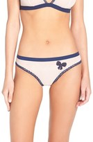 Cosabella Paul & Joe x 'Orly' Bow Appliqué Bikini