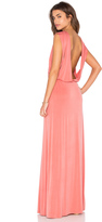 Hoss Intropia Open Back Maxi Dress