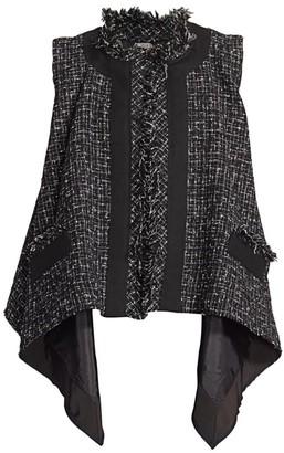 Sacai Summer Tweed Vest
