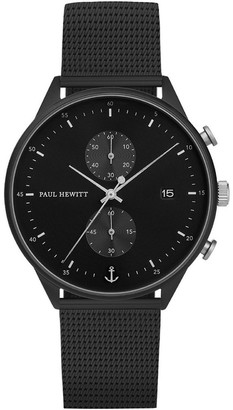 Paul Hewitt PH-C-B-BSS-5M Chrono Line Black Watch