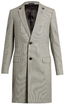 Lanvin Hound's-tooth Wool-blend Overcoat