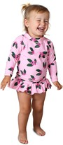 Thumbnail for your product : TINY TRIBE Berry Tropicana Two-Piece Rashguard Swimsuit