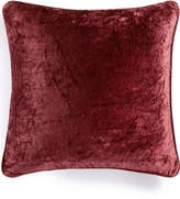 "Martha Stewart Collection Solid Velvet 20"" Square Decorative Pillow, Created for Macy's"