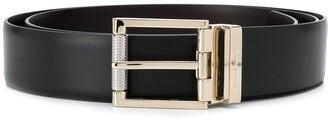 Salvatore Ferragamo Gold-Tone Buckle Belt
