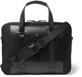 Montblanc Nightflight Leather-Trimmed Nylon Briefcase