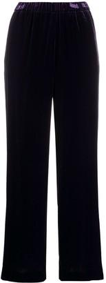 Aspesi Velvet Cropped Trousers