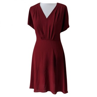 Ann Taylor Burgundy Dress for Women