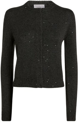 Brunello Cucinelli Sequin Knitted Cardigan