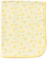 Little Me Duck Print Blanket