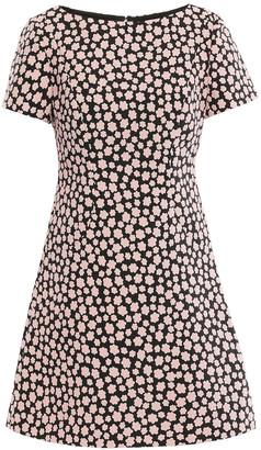 Kate Spade Floral-jacquard Mini Dress