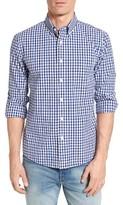 Jack Spade Men's Slim Fit Gingham Poplin Sport Shirt