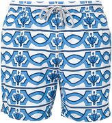Capricode - geometric print swim shorts - men - Nylon - M