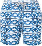 Capricode - geometric print swim shorts - men - Nylon - S