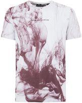 Criminal Damage White 'haze' T-shirt