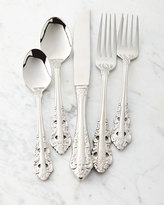 Wallace 5-Piece Antique Baroque Flatware Place Setting