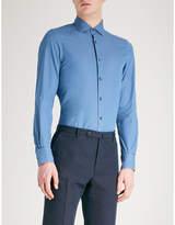 Ermenegildo Zegna Tailored-fit Cotton-chambray Shirt