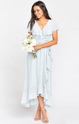 Show Me Your Mumu Jess Ruffle Midi Dress