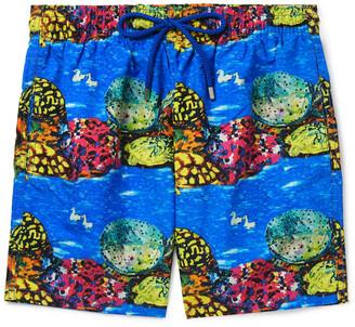 Vilebrequin + Hunt Slonem Moorea Mid-Length Printed Swim Shorts