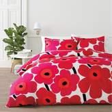 Marimekko Unikko King Comforter Set in Red