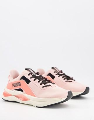 Puma Training XT geo pearl sneakers in pink