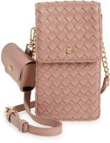 Thumbnail for your product : Mali & Lili Woven Vegan Leather Phone Crossbody Bag