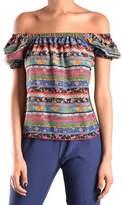 philosophy Women's Multicolor Silk Top.