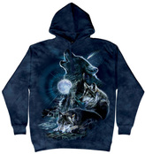 The Mountain Blue Bark at the Moon Hoodie - Unisex