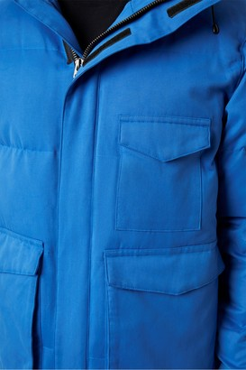 French Connection Micro Cotton Drill Puffer Jacket