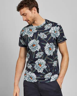 Ted Baker CRAKON Floral printed cotton T-shirt