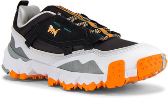 Puma Select x Helly Hanson Trailfox MTS in Puma Black & Puma White | FWRD