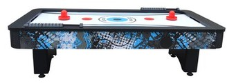 "42"" Two Player Air Hockey Table with Manual Scoreboard Hathaway Games"