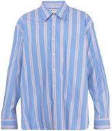 Marni Oversized striped-cotton shirt