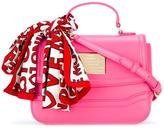Love Moschino scarf detail tote - women - Polyurethane - One Size