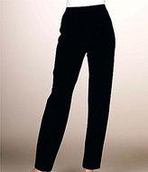 Misook Petite Pull-On Straight Leg Pants