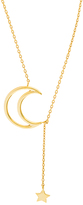 Bliss Gold Celestial Lariat Necklace