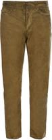 Bottega Veneta Overdyed cotton-poplin trousers