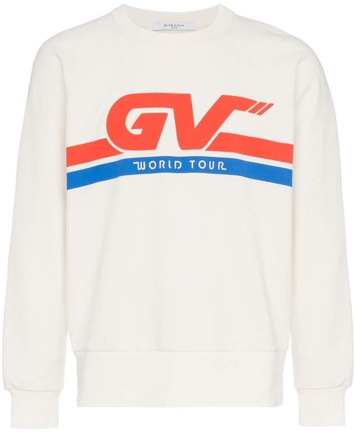 Givenchy Motorcross print cotton sweatshirt