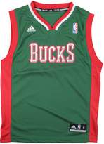 adidas Milwaukee Bucks NBA Youth Big Boys Logo Road Replica Jersey