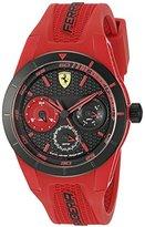 Ferrari Men's 0830258 REDREV T Analog Display Quartz Red Watch